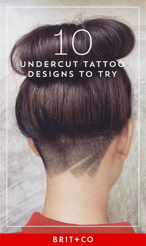 tattoo haircut save this to get creative hair inspo on the do