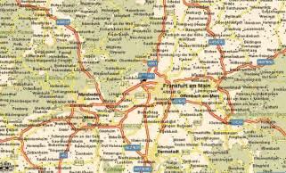 Frankfurt Germany Map by Maps Of Frankfurt