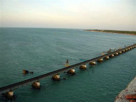 ram setu rameshwaram photos interesting facts about pamban bridge in rameswaram