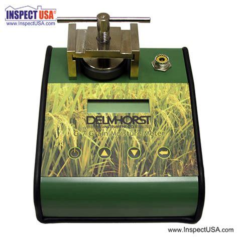 Grain Moisture Meter Usa inspectusa delmhorst grain moisture meter g7