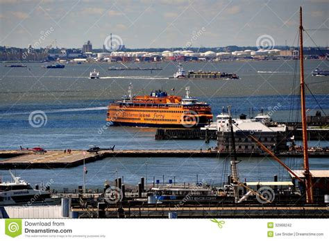 the dream boat new york times nyc staten island ferry editorial photography image