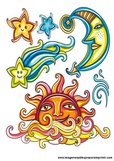 imagenes del sol y luna juntos estrellas para colorear tattoo pictures to pin on pinterest