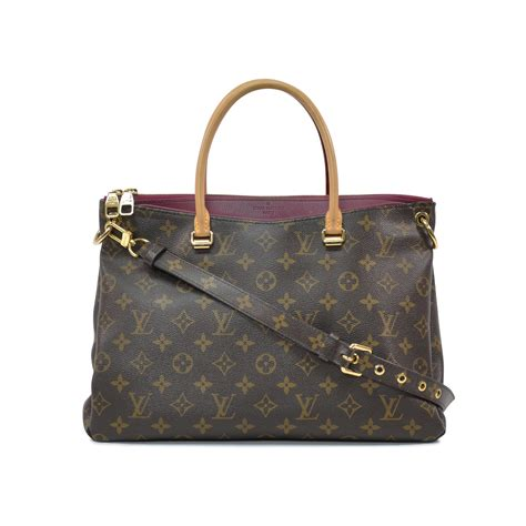 authentic  hand louis vuitton pallas monogram bag