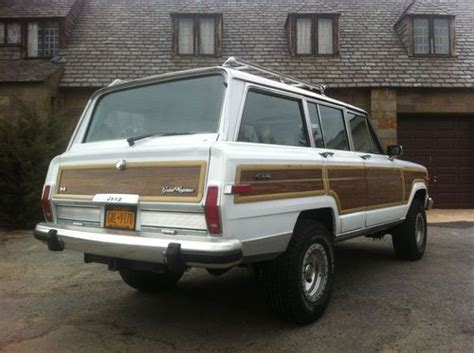 1990 Jeep Grand Wagoneer Purchase New 1990 Jeep Grand Wagoneer In Southton New