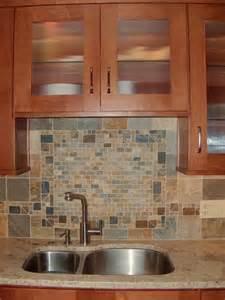 Tile Backsplash Border by Custom Tile Border In Backsplash Craftsman Kitchen