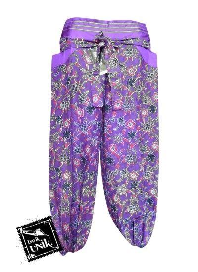 Celana Kulot Batik Tribal Panjang Aladin celana batik aladin panjang motif batik modern bawahan rok murah batikunik
