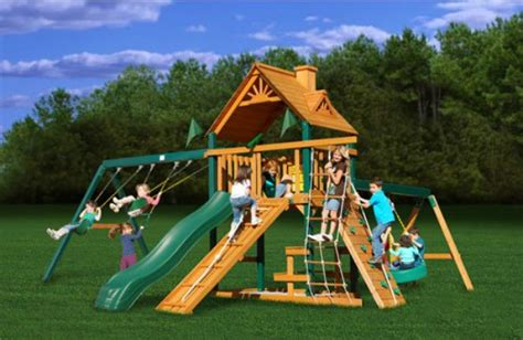 kid backyard playground set the best swing sets for older kids