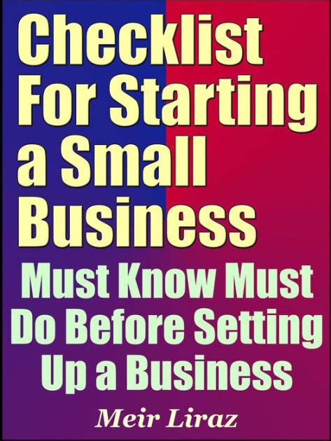 Must Tips For Starting A New Business by Checklist For Starting A Small Business Must Must