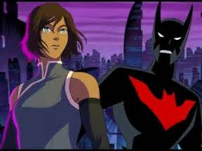 batman beyond theme song legend of korra batman beyond style