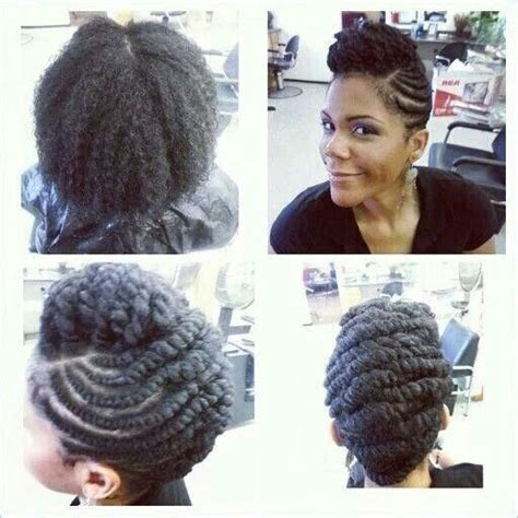 flat twist with synthetic hair updos bigger flat twist updo hair inspiring pinterest flat