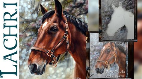 watercolor horse tutorial speed painting a horse in oil acrylic paint time lapse