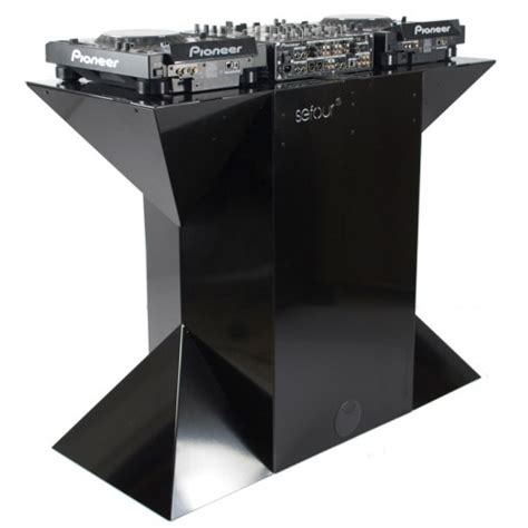 X90 Studio Dj Desk Black Xs900 901 Products Dj Studio Desk