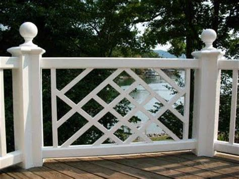 design pattern rails chinese chippendale porch guard rail patio pinterest