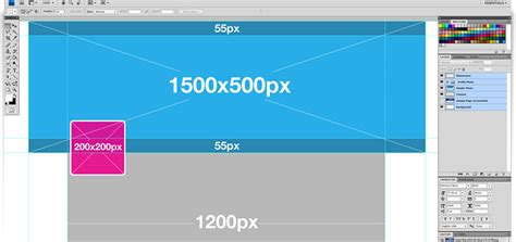 twitter layout measurements ขนาดร ปภาพของ twitter header 2014 webmonster lab