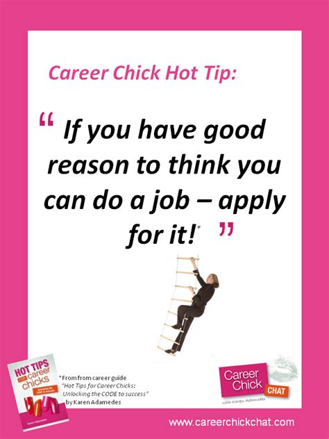 career chat decide to apply for a you want
