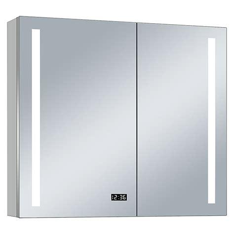 led spiegelschrank aluminio sun b x h 100 x 70 cm mit - Spiegelschrank 70 Cm Breit Led