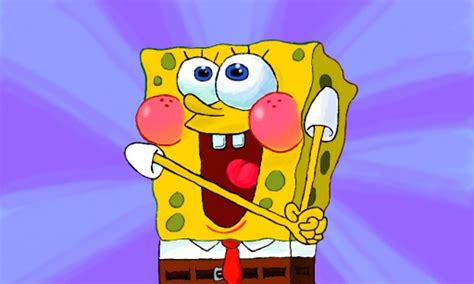 Super Happy Meme Face - super happy spongebob