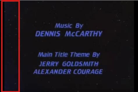 blue song at the end trek end credits blue glow science fiction