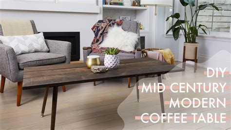 mid century modern coffee table diy diy retro mid century modern coffee table hacked from a