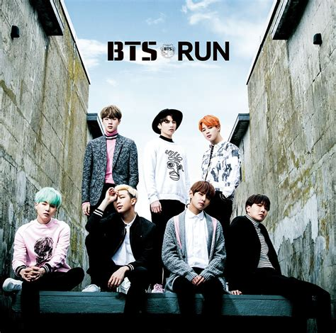 bts japanese info bts will be released 6th single album run japanese