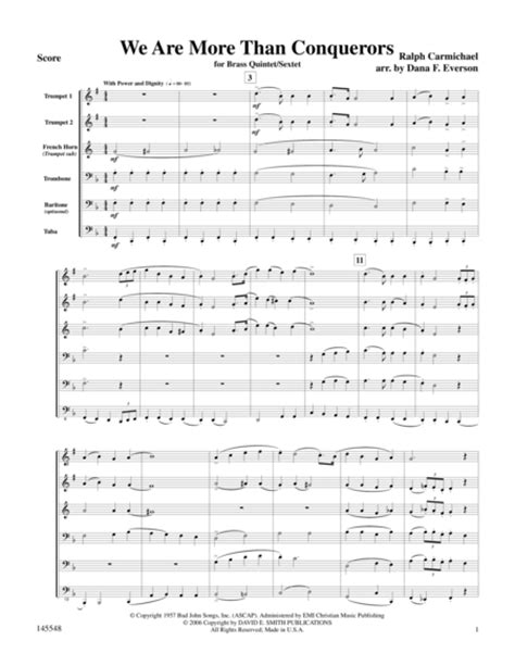 A Place Sheet Ralph Carmichael We Are More Than Conquerors Sheet By Ralph Carmichael Sheet Plus