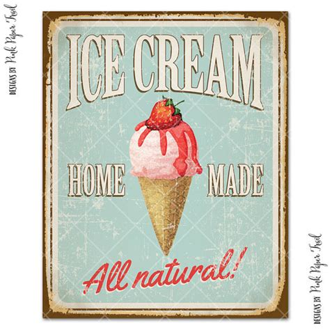 Kitchen Layout Guide vintage ice cream sign party decor ice cream social ice