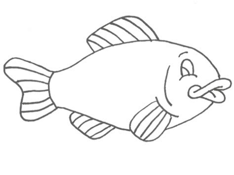 coloring page fish free printable fish coloring pages for