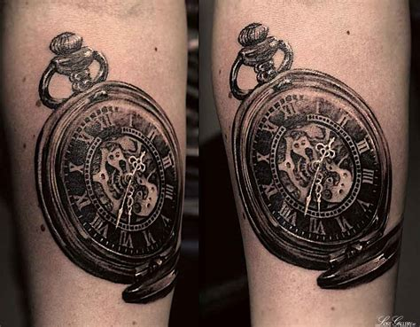 pocket watch designs for tattoos 100 unique tattoos