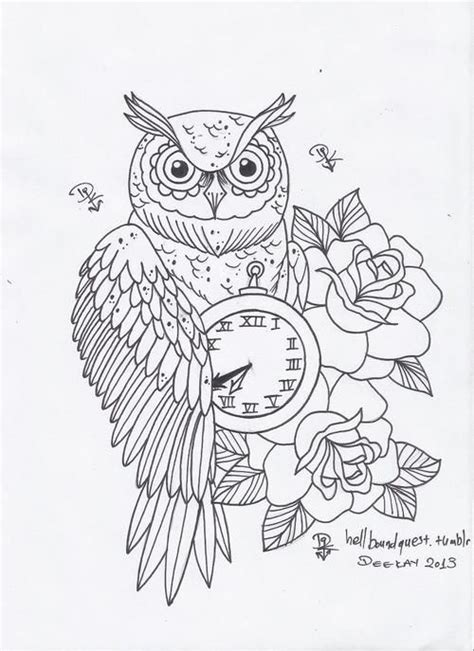 tattoo pictures to color owl tattoo design tumblr tattos i