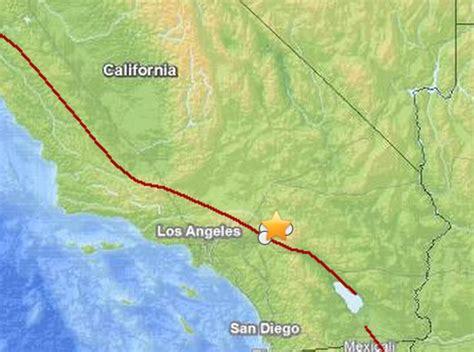 earthquake near me today california earthquake today quake near los angeles big
