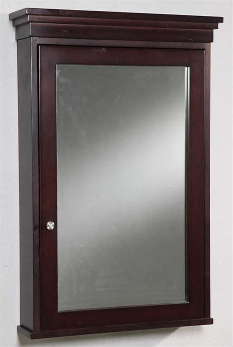 cherry finish medicine cabinet empire industries emmcssc 24 inch contemporary surface