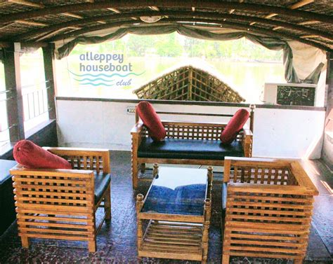 upper deck houseboat 2 bedroom deluxe house boat with upperdeck alleppey