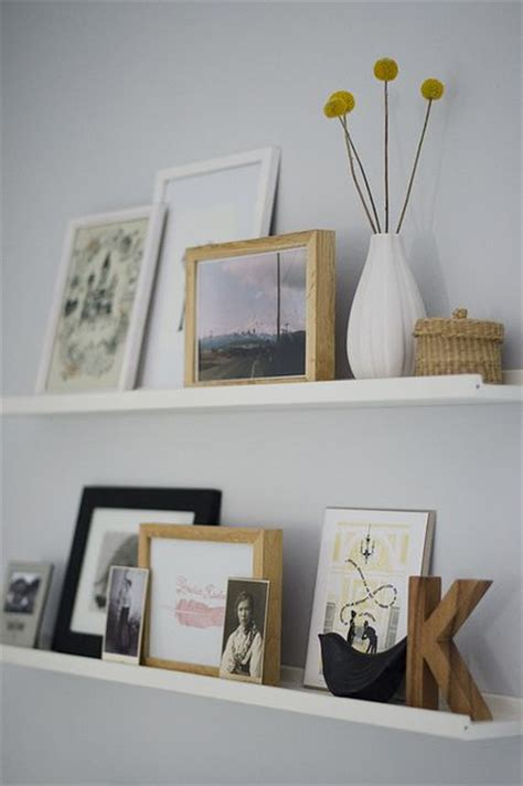 34 Cool Ways To Use Picture Ledges For Home D 233 Cor Digsdigs Ikea Picture Shelves