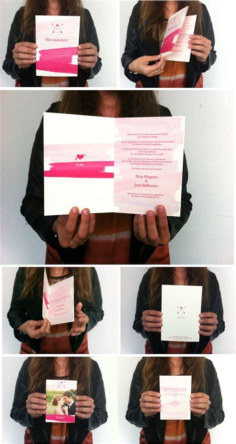 Hochzeitseinladung Kreativ by Kreative Hochzeitseinladungen Alle Guten Ideen 252 Ber Die Ehe