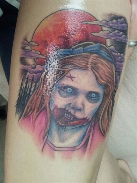 tattoo neck girl walking dead 115 best images about the walking dead tattoos 2 on