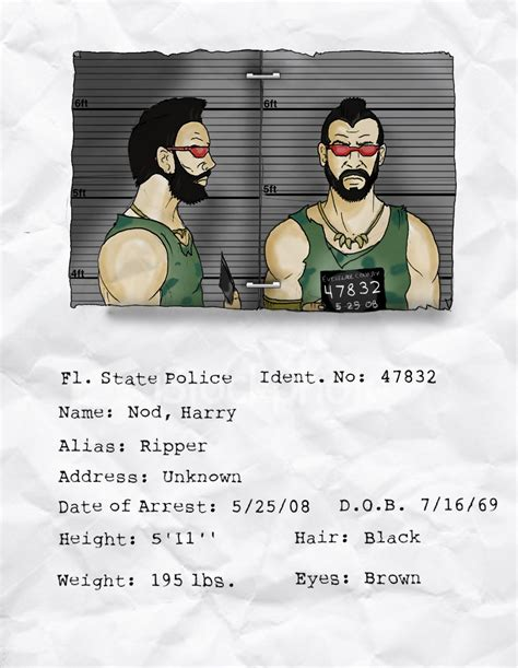 Joining The With A Criminal Record Ripper Criminal Record By Deimos Remus On Deviantart