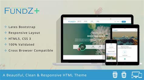 crowdfunding templates fundz a crowdfunding html5 theme themes templates