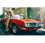 Pontiac GTO Hot Girl Wallpapers