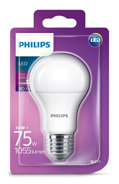 Led Iarovka Philips E27 standard d 233 polie led bulb e27 10w 75w 1055 lumen 10w 75w by philips