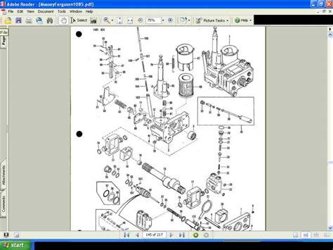 massey ferguson parts diagram massey ferguson mf 1155 tractor parts manual diagrams
