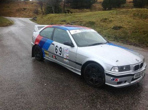 bmw rally car bmw m3 compact rally car e36 compact