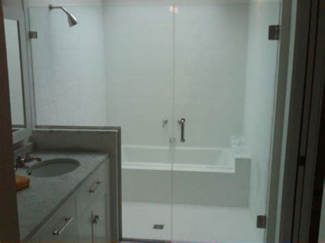 Shower Doors Maryland Maryland Shower Enclosures Frameless Inline Door And Panel