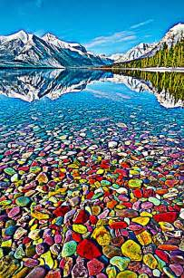 lake mcdonald montana colored rocks pin by phoebe jones on awesome pretty surreal