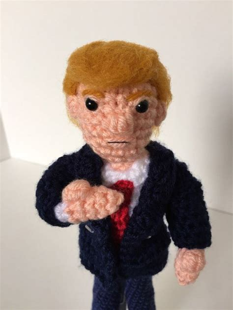 donald trump doll cruz the 2016 presidential candidates in crochet top crochet