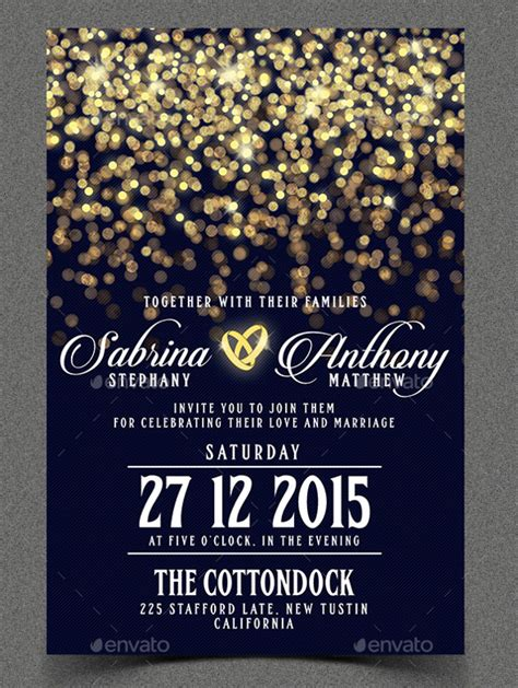Invitation Card Design Tutorial Photoshop | invitation card template 46 free psd ai vector eps