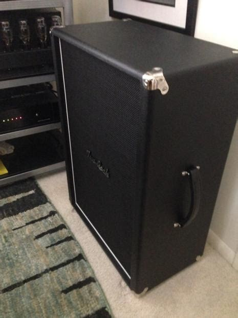 used two rock 2x12 guitar cabinet open back black reverb