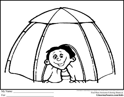 tent coloring page tent cing coloring pages coloring pages