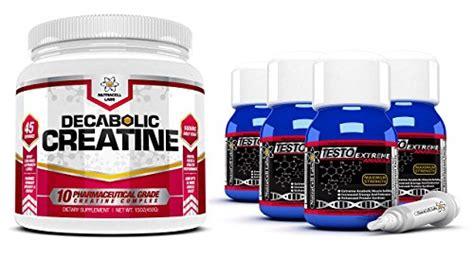 testo anabolic decabolic creatine 1 nutracell labs testo anabolic testosterone