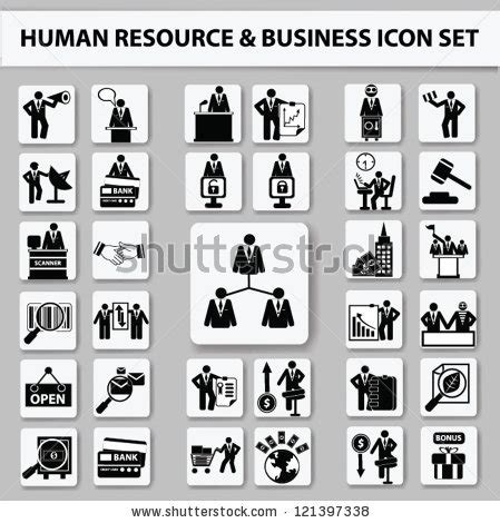Set Of Business Icons Human Resource Finance Royalty Free Stock Photos Image 33611768 Business Management Finance And Human Resources Icon Set Vector 121397338