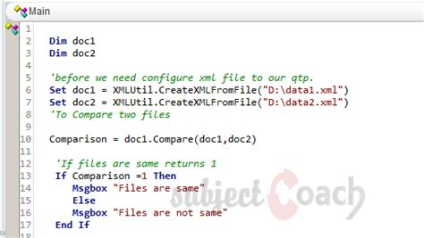 xml quick guide working with xml in qtp quick test professional the
